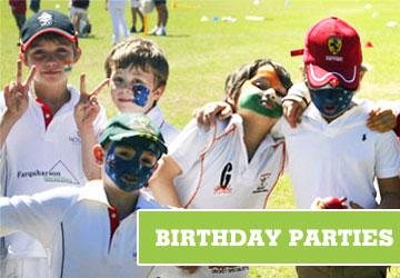 kids cricket parties sydney