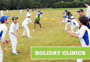 school holiday cricket clinics