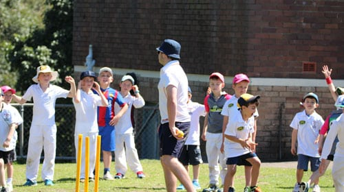 sydney cricket school holiday clinics