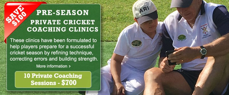 sydney off season private cricket coaching