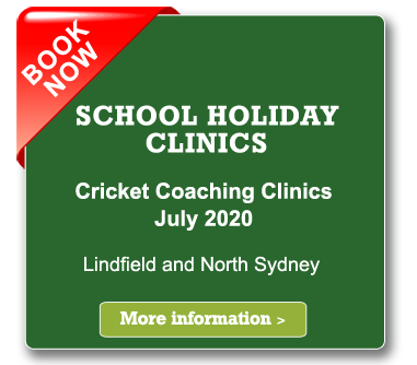 school holiday cricket coaching clinics