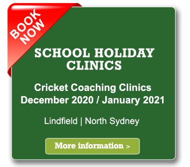 geoff spotswood school holiday cricket clinics