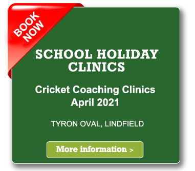 cricket coaching clinics easter holiday 2021